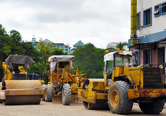 Construction - heavy vehicles
